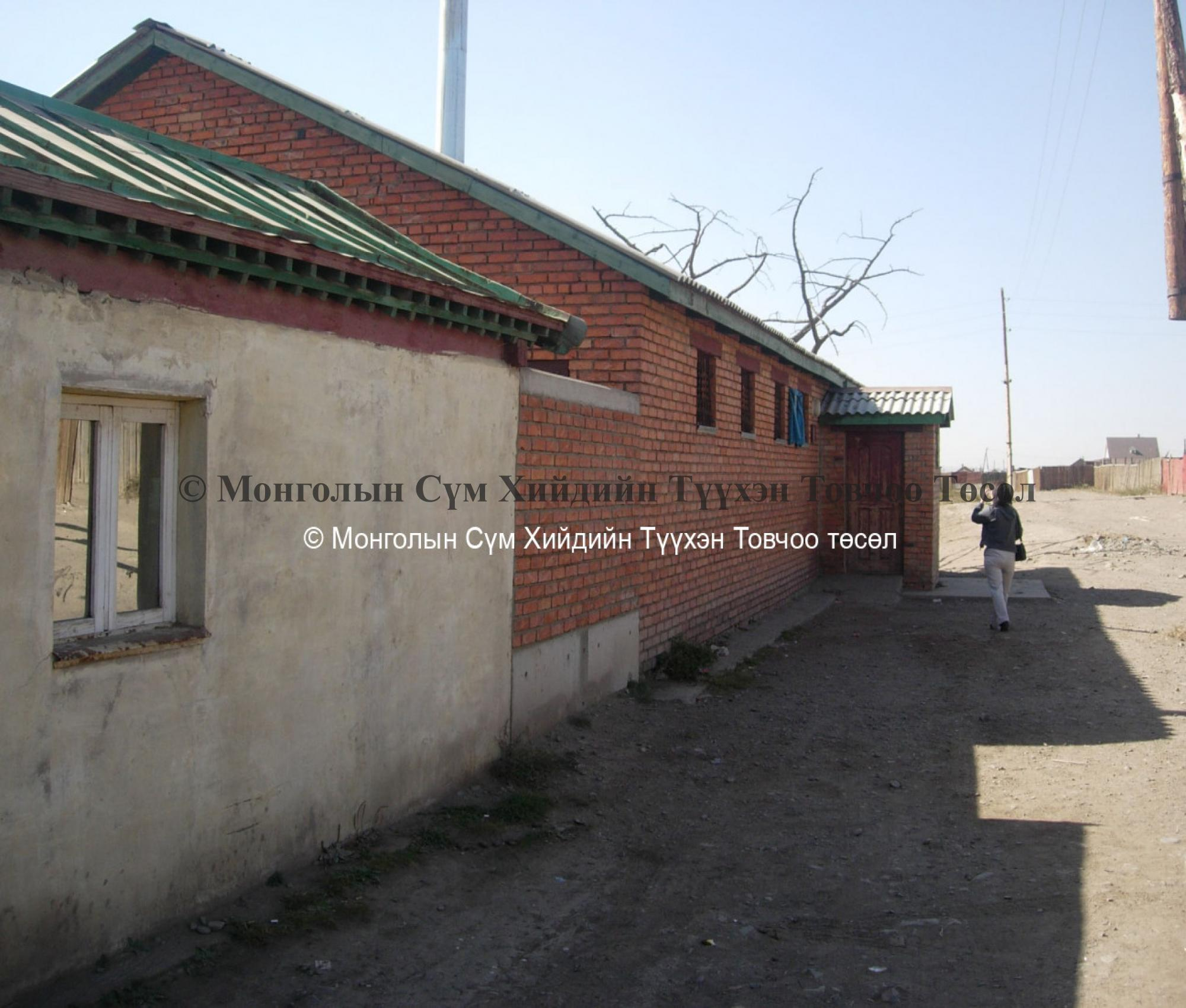 Community Centre situated on North side of temple
