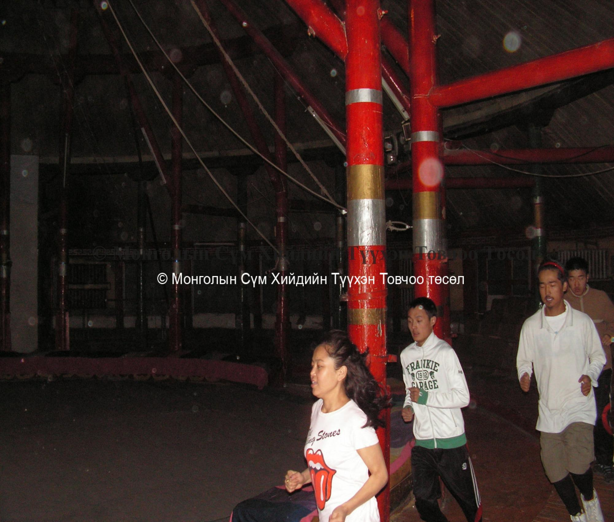 Training held in the Circus College 2007