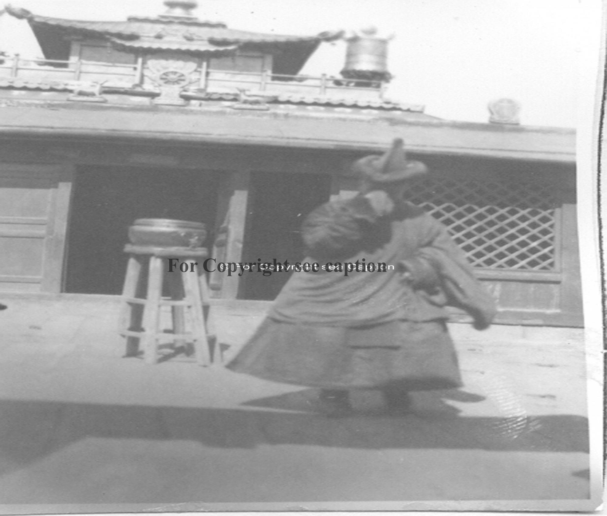 Tantric monastic school (1936?). Film Archives K-24837