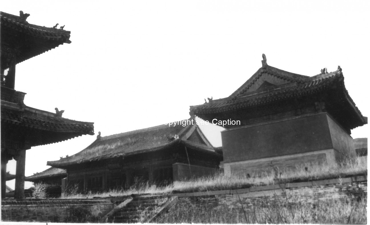 Zuu temple and Khangal temple. Film Archives ?