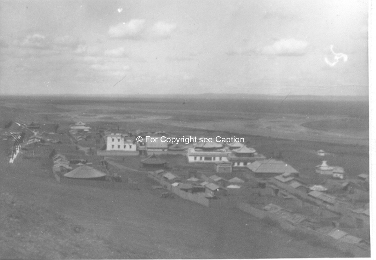 General view of the monastery and Orkhon River. Film Archives K-24222