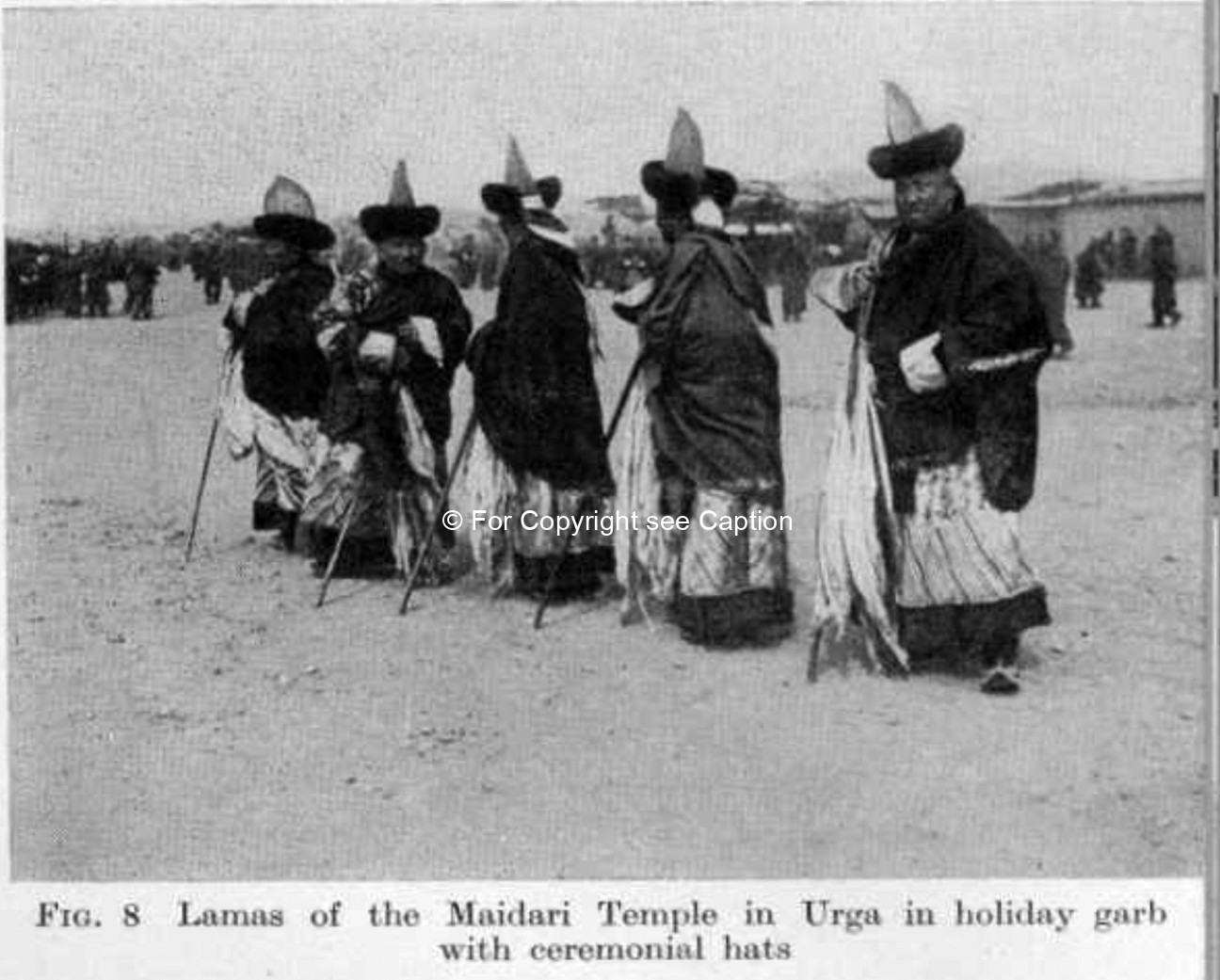 Disciplinary monks. Consten, H., Lamaism in Mongolia.