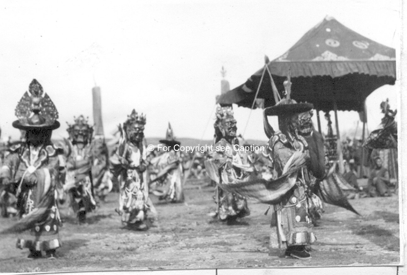 Tsam dance. Film Archives K-24746